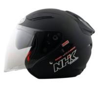 Helm NHK R1 solid black doft