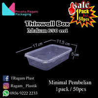 Thinwall Food Container 650 ml