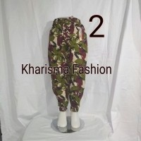 Celana panjang anak2 motif loreng/army kaki joger wanita termurah