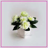 0bd54edd8 Bunga Mawar Plastik Artificial Buket Bunga Palsu Dekorasi Rumah Shabby