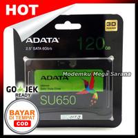 "Garansi 3 Tahun Adata SSD SU650 Ultimate 120GB 2.5"" SATA III mengimpl"