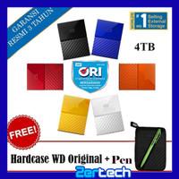 """WD My Passport NEW 4TB - HDD / HDD / Hardisk Eksternal / External 2.5"""""""