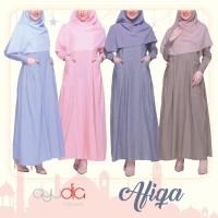 AYUDIA AFIQA DRESS GAMIS ONLY daily katun adem fine oxford cotton