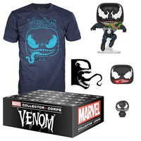 Toys Funko Marvel Collector Corps, Venom Theme, T-Shirt Size X-Large