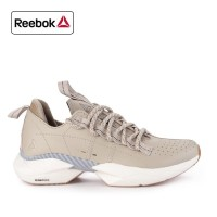 Sepatu Reebok Sneakers Kasual Flat ride Cream Original