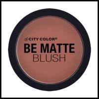 Spesial Offer City Color Be Matte Blush - Hibiscus Barang Terbatas