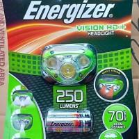 Lampu Kepala HeadLight HD Vision Gratis 3 baterai AAA