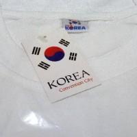 T-Shirt / Kaos Pria -- Kaos Souvenir Baju Oleh-Oleh Negara Korea