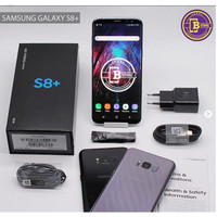 Samsung Galaxy S8 Plus 64 GB - Fullset - S8Plus 64GB - COD Surabaya