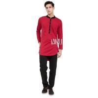 JB - Baju Koko Model Terbaru Bahan Kaos - Baju Koko Pria Bahan Katun