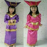 Baju adat padang anak laki laki / perempuan size S kostum karnaval