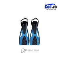 Terlaris Alat selam kaki katak fin open heel scuba diving snorkeling