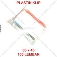 Promo Plastik Klip 35X45 Plastic Clip 35 X 45 Cm Ziplock Jumbo Besar