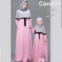 Baju Gamis Muslim Couple Ibu dan Anak Murah