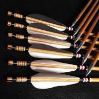 Anak Panah Bambu 8Mm Per 6 Pcs - Arrow Kayu Petung Bukan Alumunium
