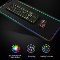 Gaming Mouse Pad dengan LED RGB 300x780x4mm