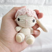 Boneka Rajut Kelinci