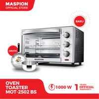 Maspion Oven Toaster (Tungku Pemanggang) MOT-2502BS Kapasitas 25 Liter