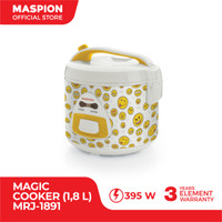 Maspion Magic Cooker MRJ-1891 Penanak Nasi Emoticon 1.8 Liter
