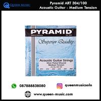 senar pyramid art 304/100 akustik gitar medium tension