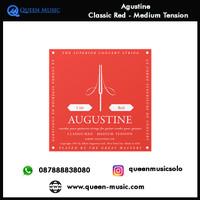 senar agustine classic red medium tension nylon gitar