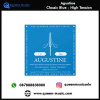 senar agustine classic blue high tension nylon gitar