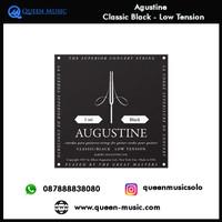 senar agustine classic black low tension nylon gitar