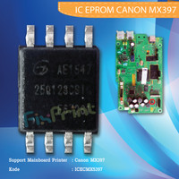 IC Eprom Canon MX397 Eeprom IC Reset Counter Mainboard Printer MX-397