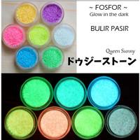 Bulir Pasir Glow in The Dark Topping Fosfor Bahan Resin Nail Art TPG47