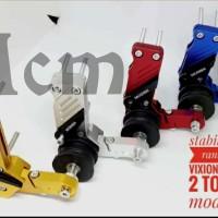 Tensioner Stabilizer rantai cnc lipat Yamaha vixion old new