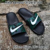 Sandal Nike Benassi ORIGINAL Sendal Nike Hitam ORIGINAL Nike Benassi 6