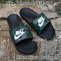Sandal Nike Benassi ORIGINAL Sendal Nike Hitam ORIGINAL Nike Benassi 5