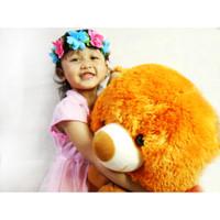 boneka beruang Teddy Bear jumbo 100cm rasfur