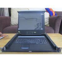 Monitor LCD Slideaway KVM Aten CL-1200 Untuk Rack Server