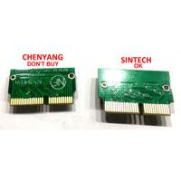 Adapter Sintech M.2 NGFF SSD NVMe untuk Macbook Air Pro 2013 2014 2015