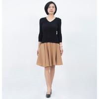 Okechuku RUTH Knit Outer Sweater Rajut Lengan Panjang Fashion Wanita