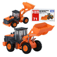 Tomica no 71 Hitachi Construction Machinery Wheel loader ZW220