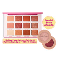 [BUNDLING] Holiday Piece Matching Palette & (2pcs) Foil Shock Shadow