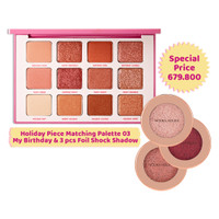 [BUNDLING] Holiday Piece Matching Palette & (3pcs) Foil Shock Shadow