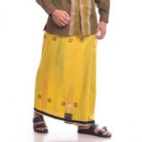 Sarung BHS Gold Excellent motif SGK Kuning