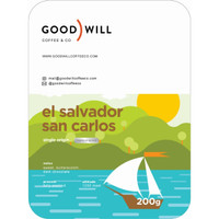 Kopi Arabica El Salvador San Carlos 200gr - Biji/Bubuk
