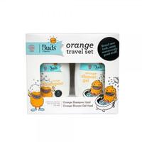 Buds Organics for Kids - Orange Travel Set