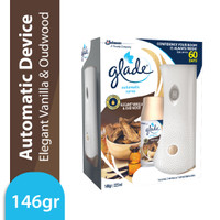 Glade Matic Device + Refill Elegant Vanilla & Oudwood