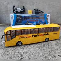 RC CAR BUS BATRE CAS EDUKASI - MAINAN MOBIL BIS REMOTE CONTROL ANAK