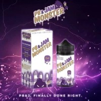 Liquid Jam Monster Peanut Butter Grape 3mg 100ml liquid vape premium