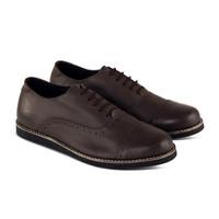 SEPATU FORMAL PRIA MONDAY ZEFF BROWN MONDAY FOOTWEAR 100% ORIGINAL