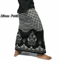 Sarung Batik Wayang Halus | Sarung Batik Printing | Sarung Gunungan - Abu-abu