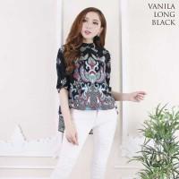 Vanila Long Top Standar - Atasan Batik Lengan Panjang Wanita