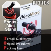 Genuine Rode VideoMicro Microphone - Original Asli Resmi Video Micro