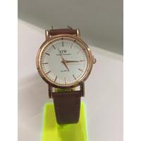 jam tangan wanita kulit WD analog